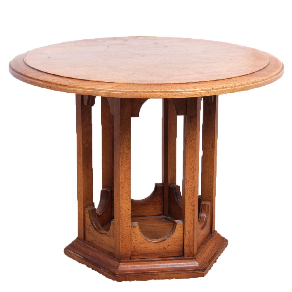 Hekman Furniture Wooden Accent Table