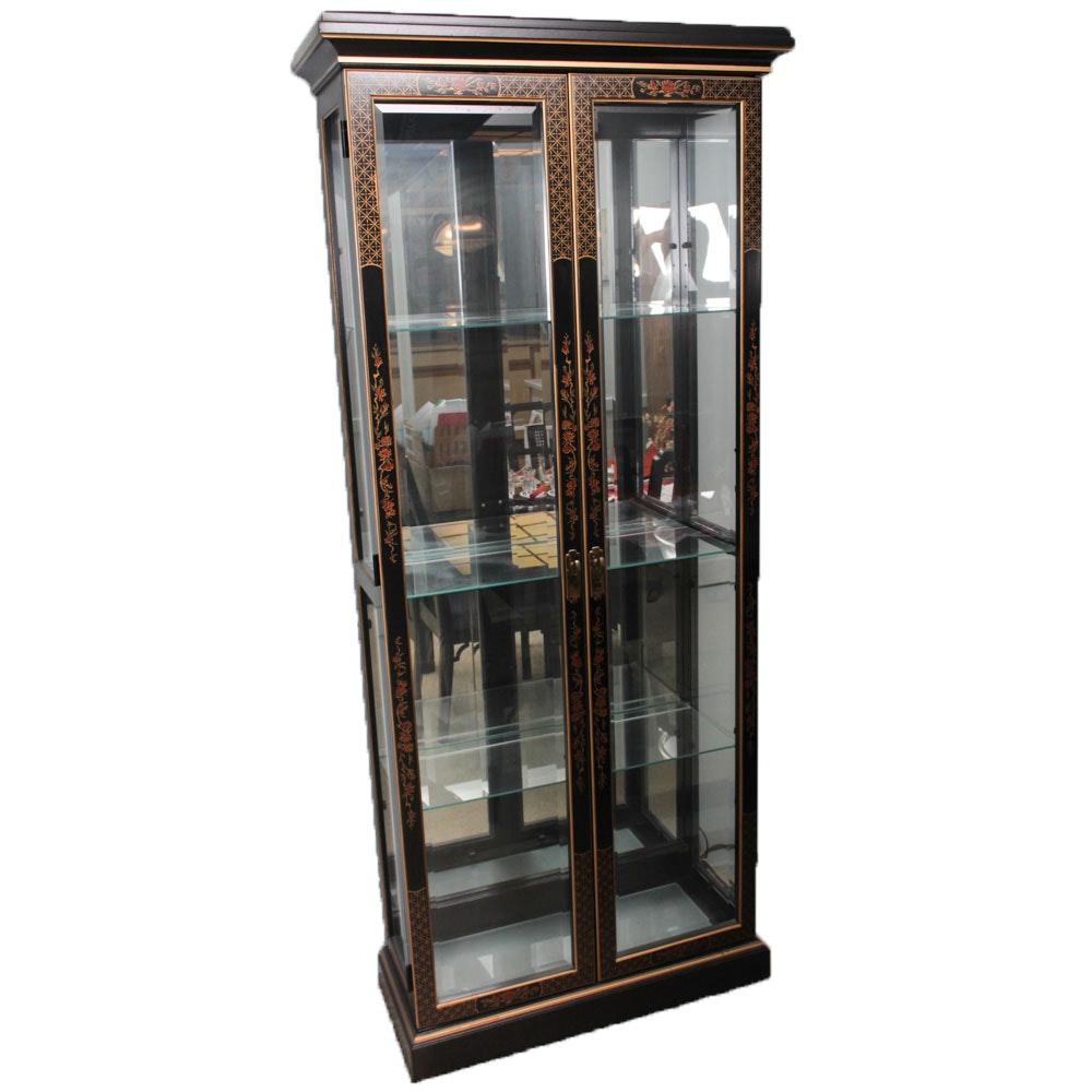 Vintage Drexel Chinoiserie Curio Cabinet