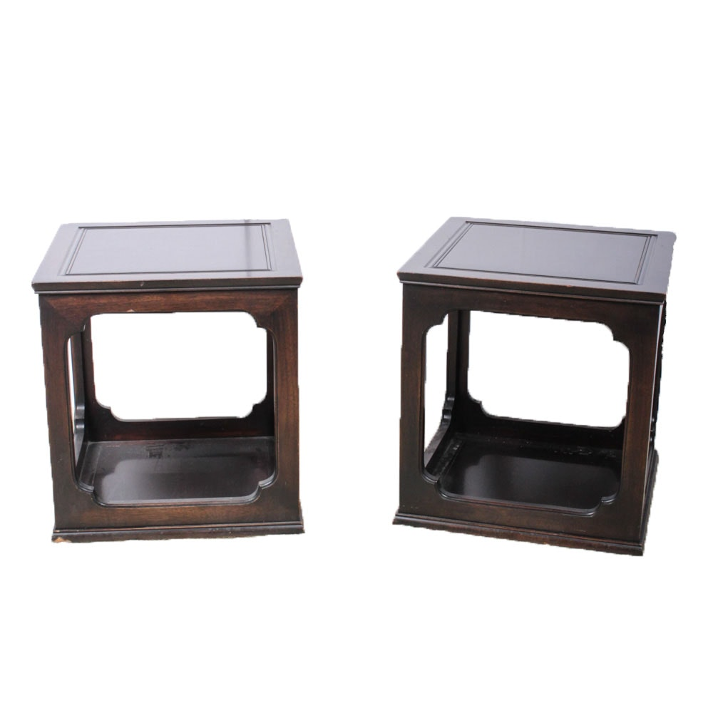 Chinese Empire Style Accent Tables