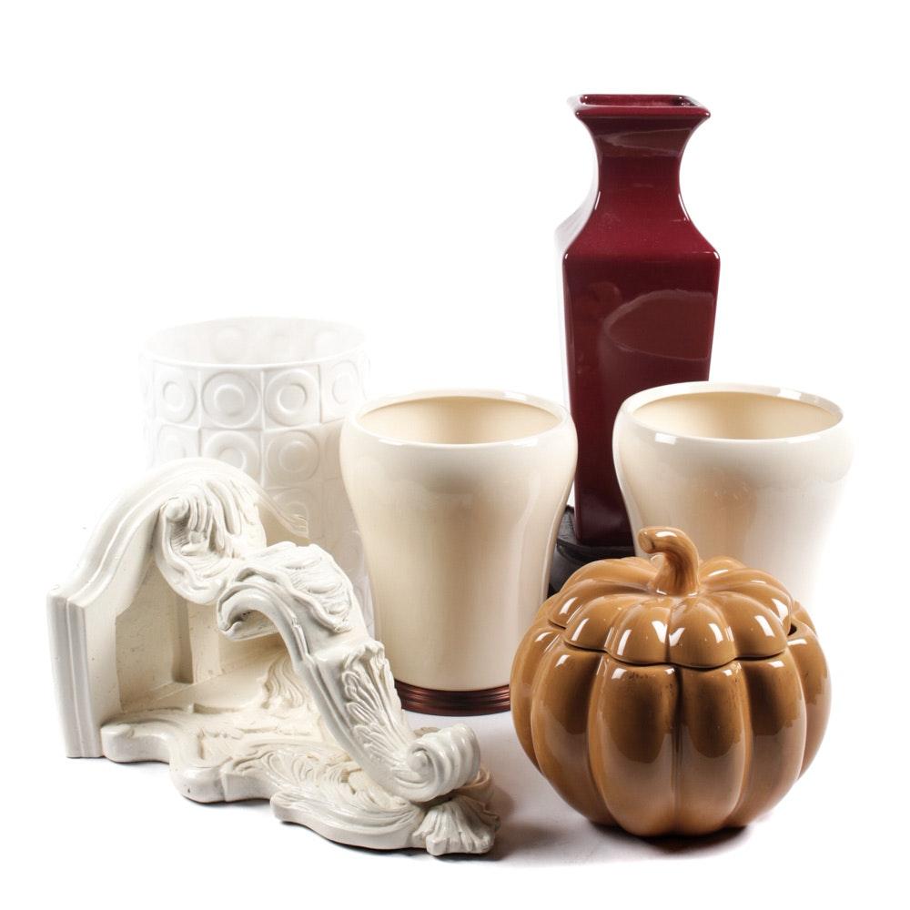 Decorative Ceramics Collection including Haeger