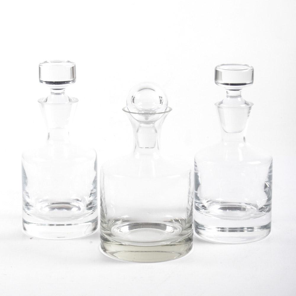 Contemporary Glass Decanters