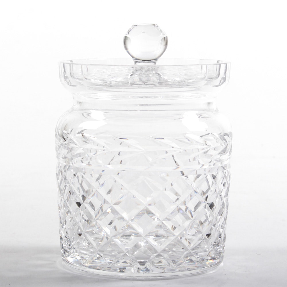 "Waterford ""Glandore"" Biscuit Jar"