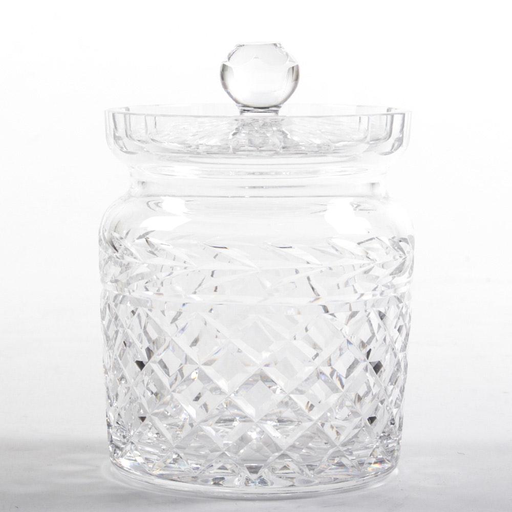 """Waterford """"Glandore"""" Biscuit Jar"""