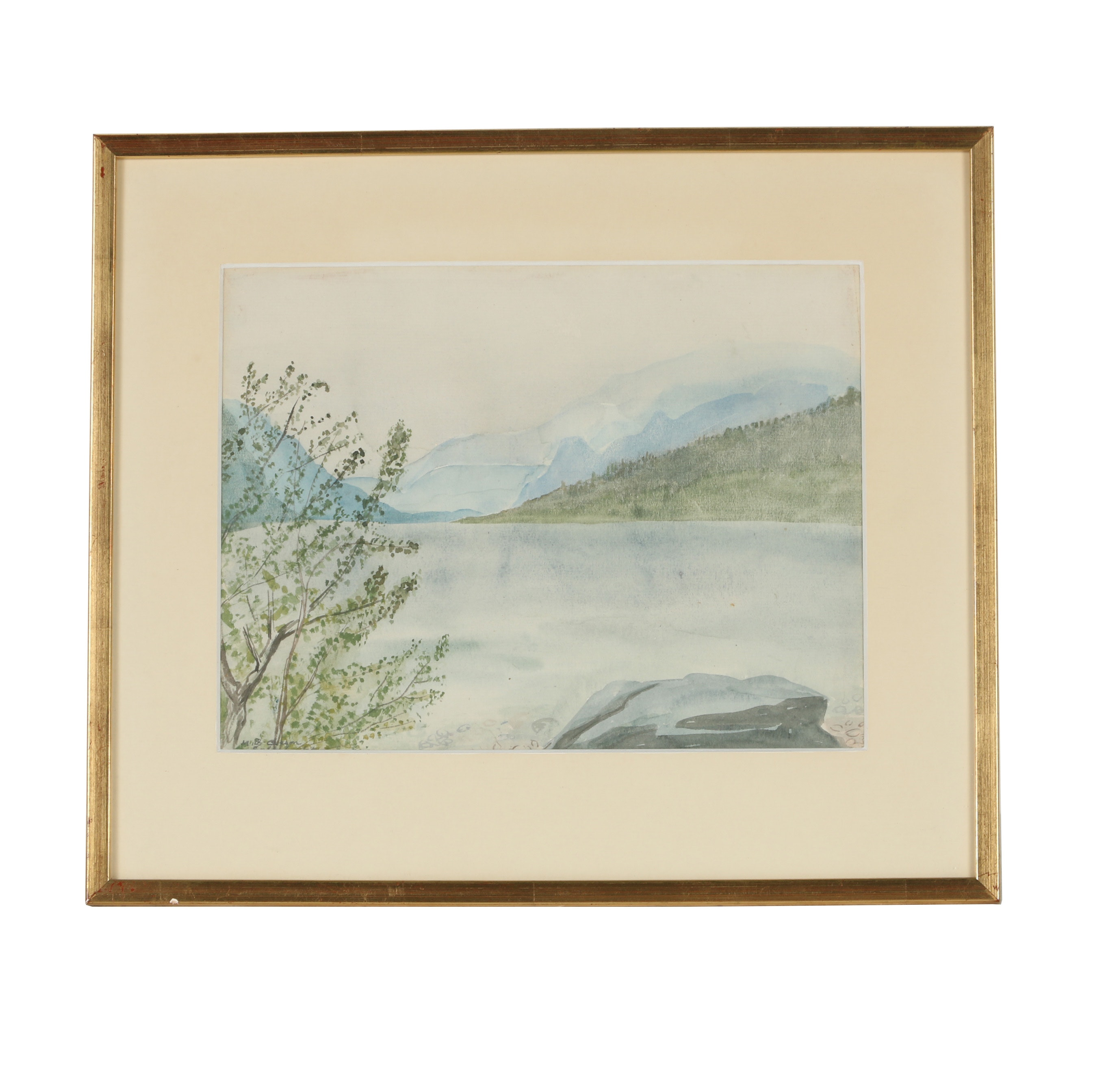 M.B. Clasen Watercolor Painting