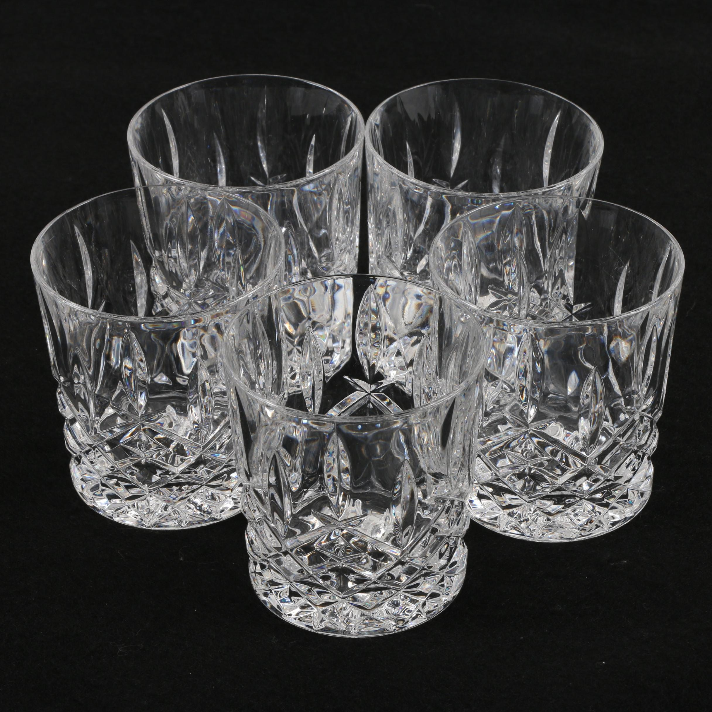 Killarney Crystal Old Fashioned Glasses