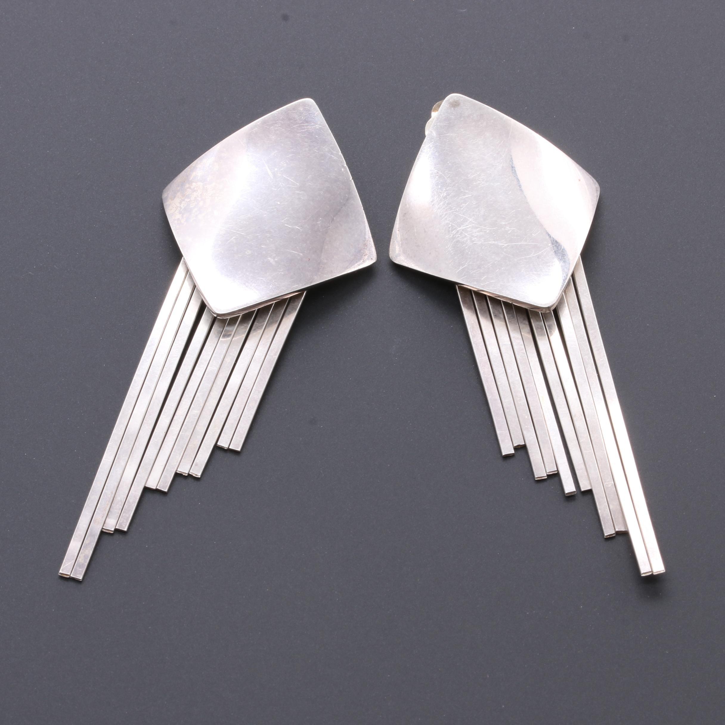 Sessin Durgham Sterling Silver Earrings