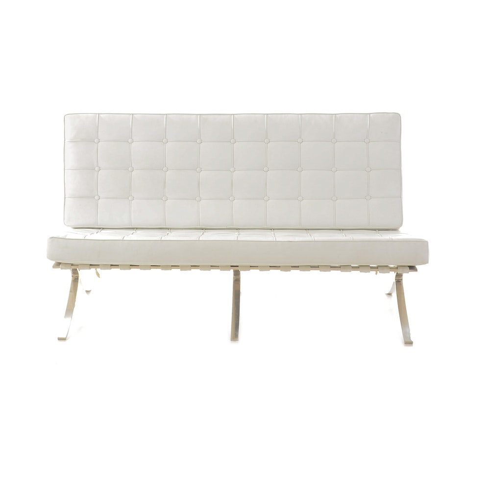 Barcelona Sofa after Mies Van Der Rohe