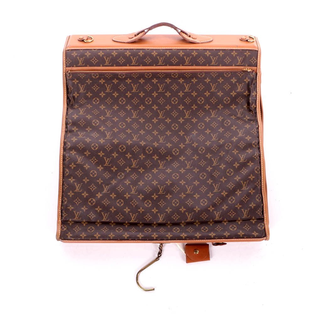 Vintage Louis Vuitton of Paris Monogram Garment Bag