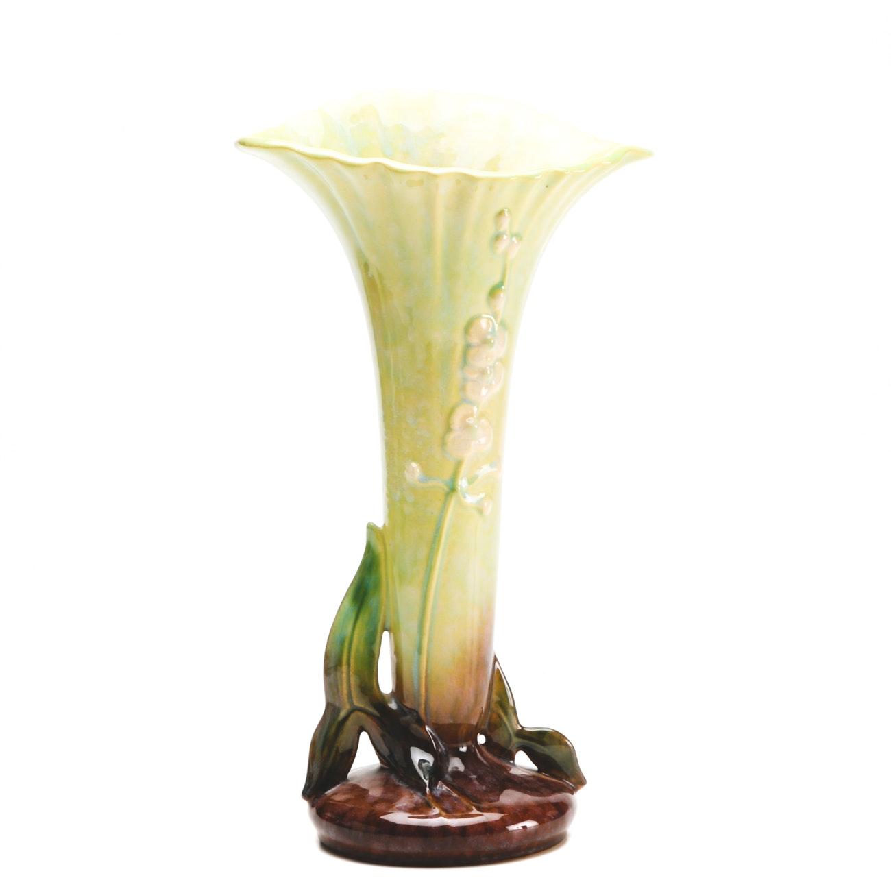 """1940s-1950s Roseville """"Wincraft"""" Vase"""