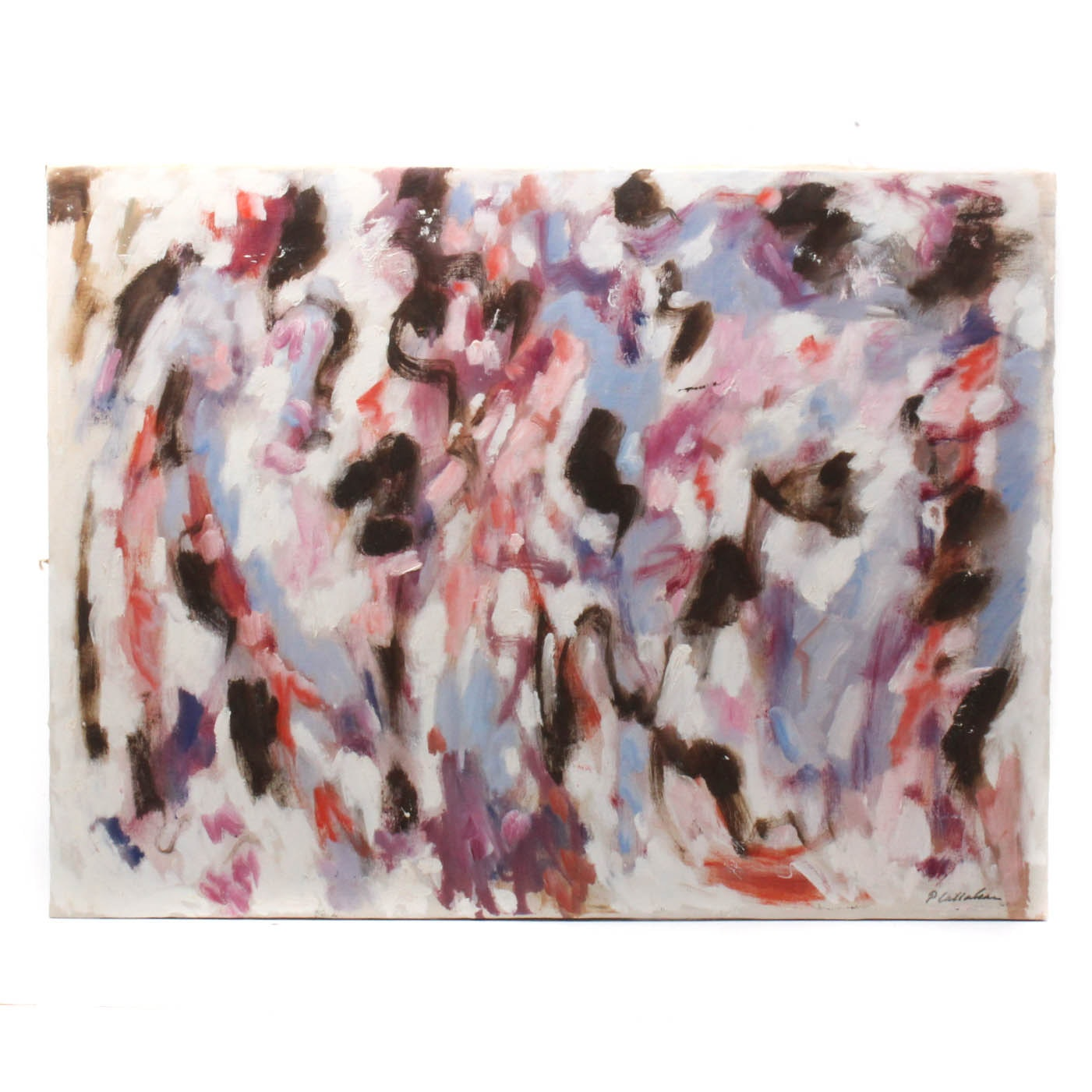 Phillip Callahan Abstract Oil Painting
