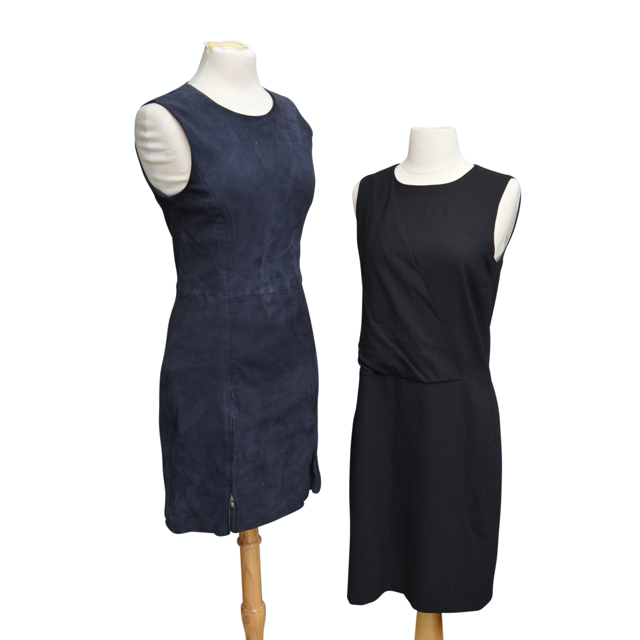 Women's Theory Black and Navy Dresses