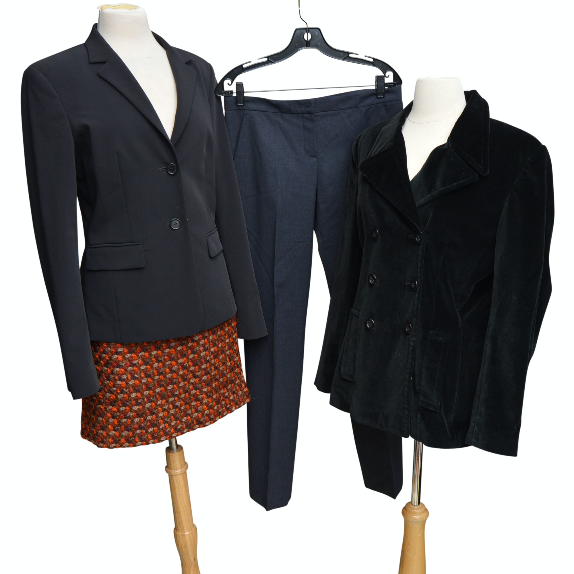 Women's Designer Jackets, Pants and Skirt with Kate Spade, Escada and Theory