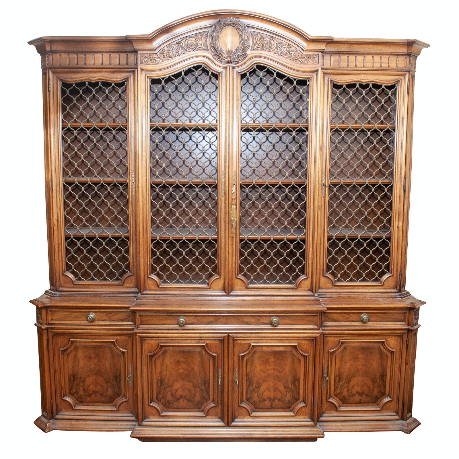Mid Century Karges Wood China Cabinet