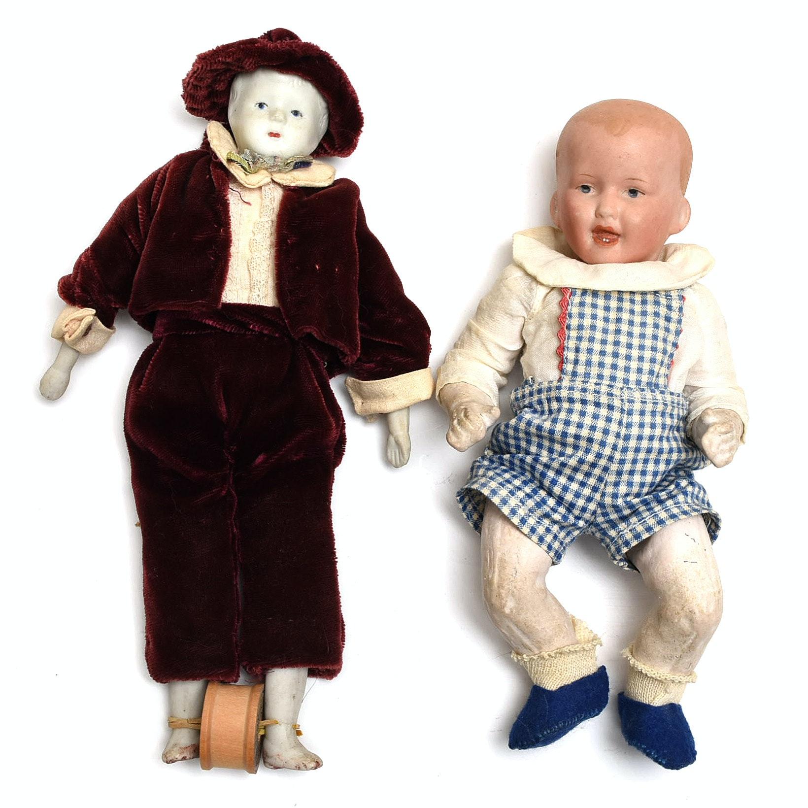 Antique And Vintage Boy Dolls