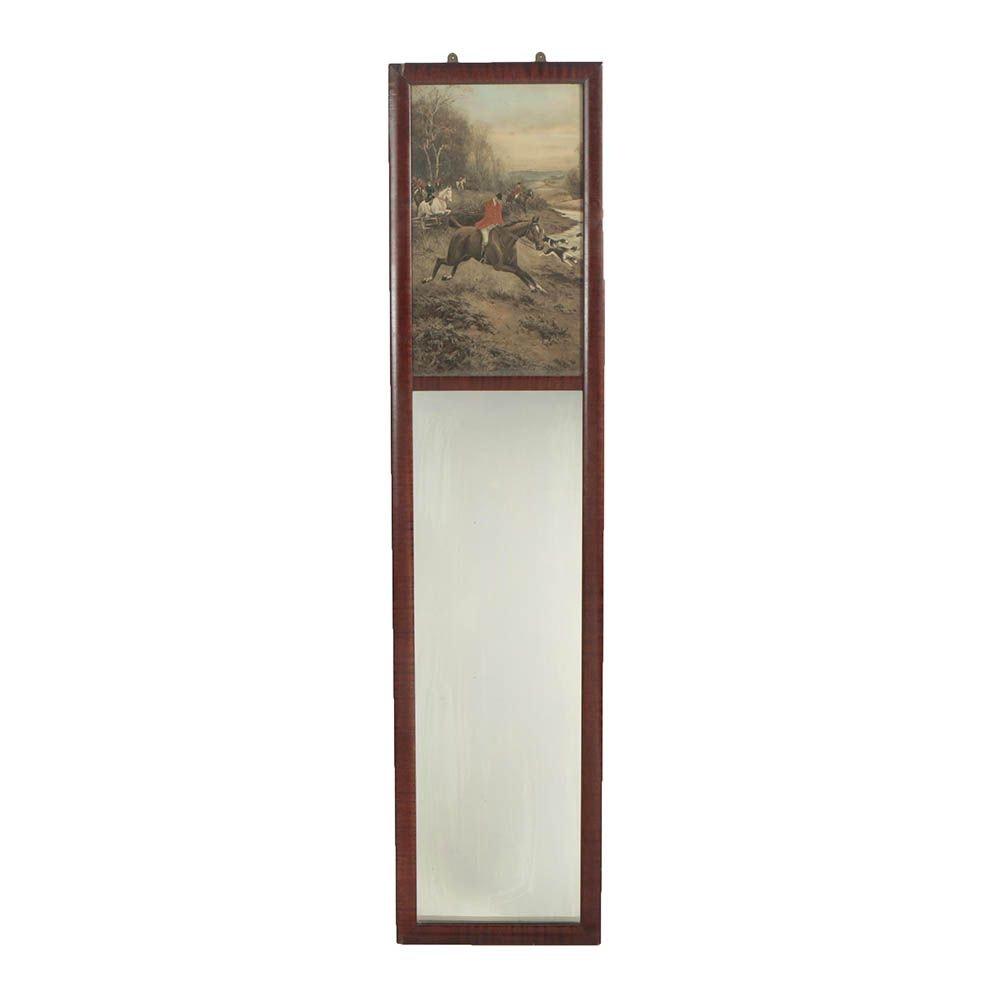 Vintage J.J. Gillespie Co. Decorative Wall Mirror