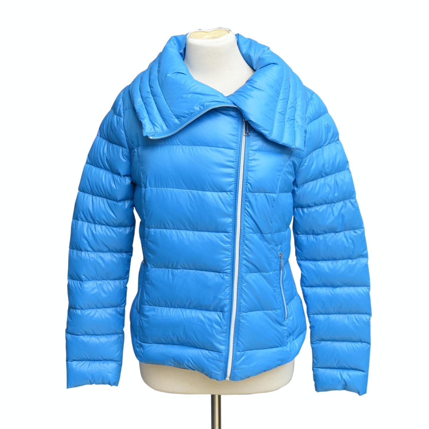 BCBG Blue Down-Filled Jacket