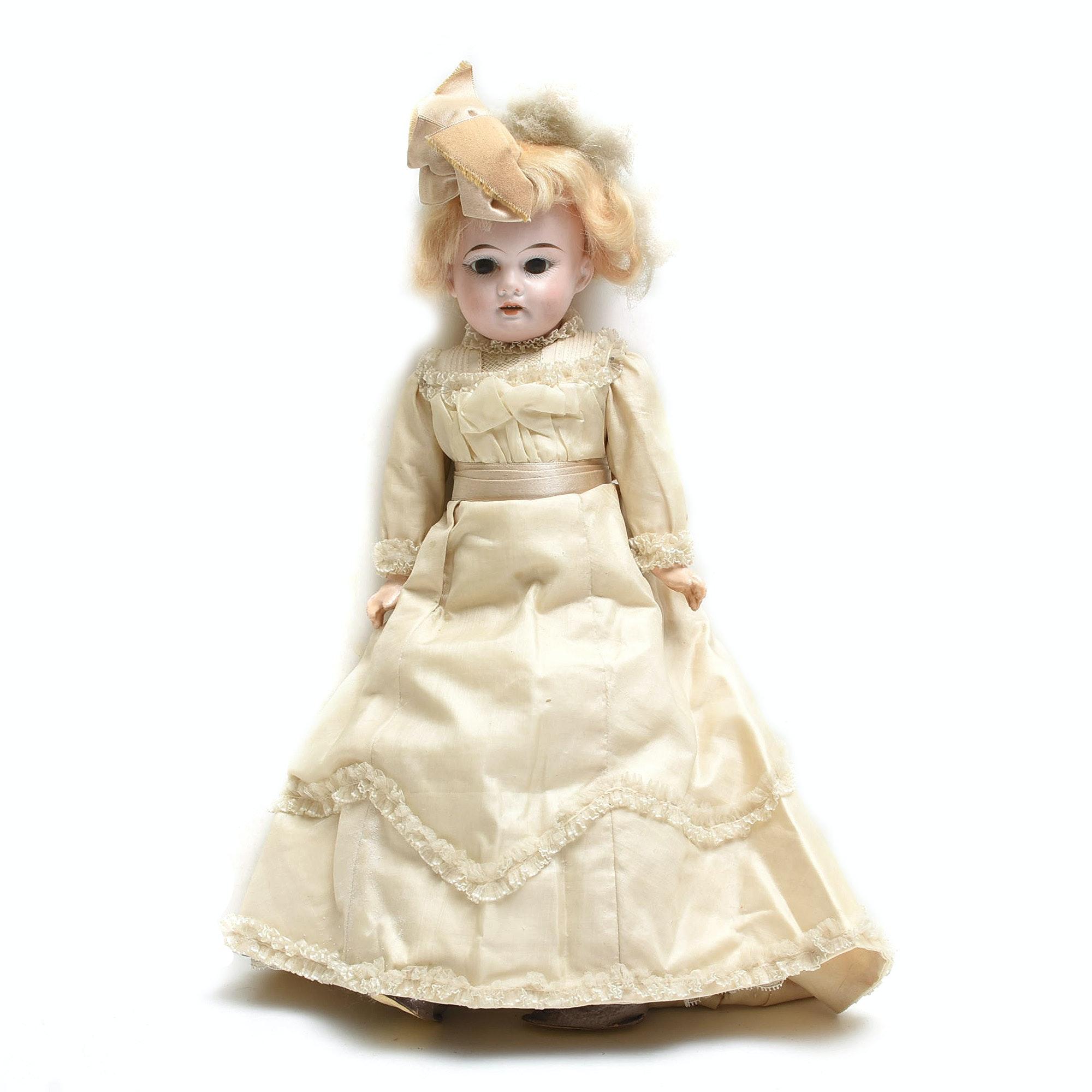 Antique Armand Marseille Bisque Head Doll