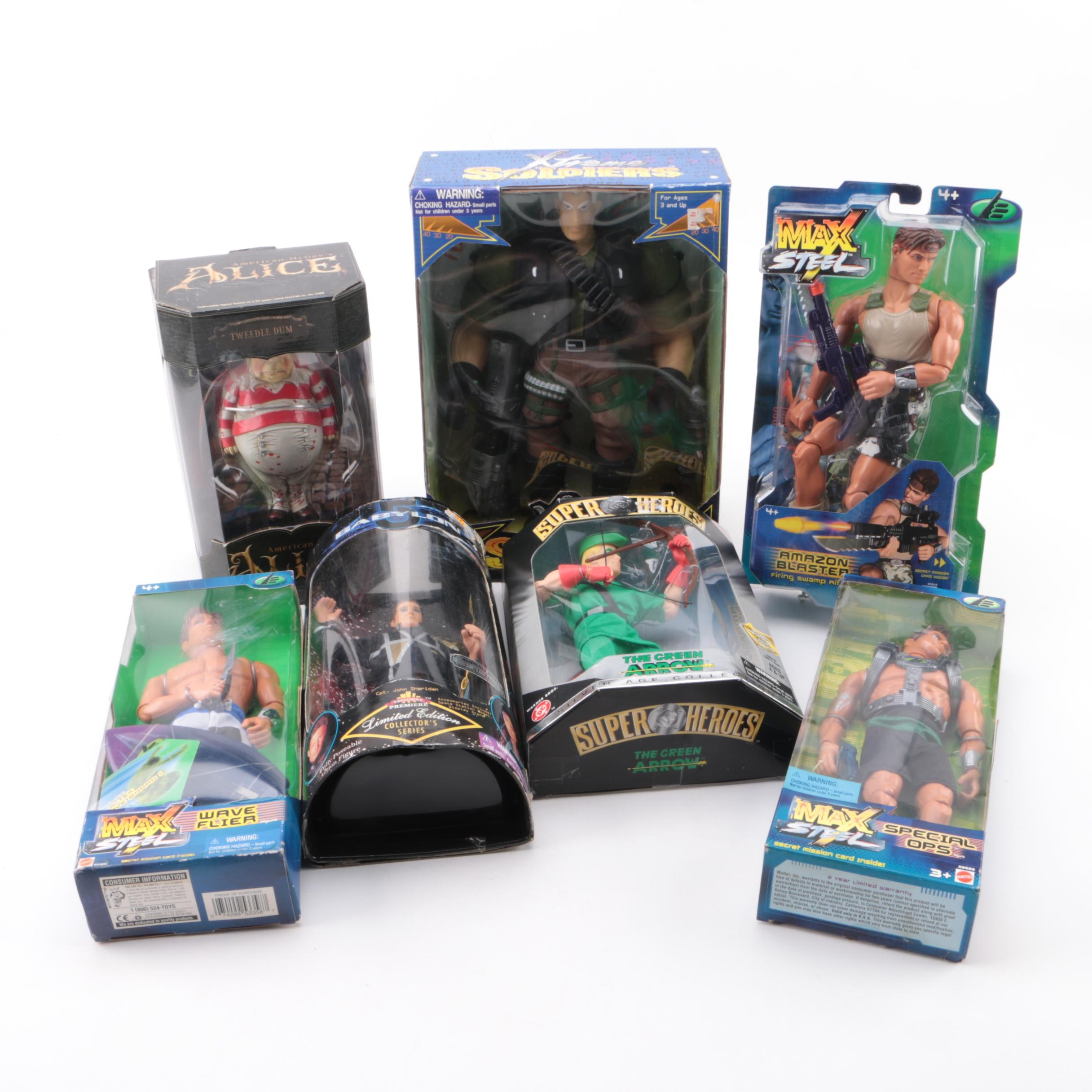 """""""Max Steel"""", """"Xtreme Soldiers"""" and Other Collectible Action Figures"""