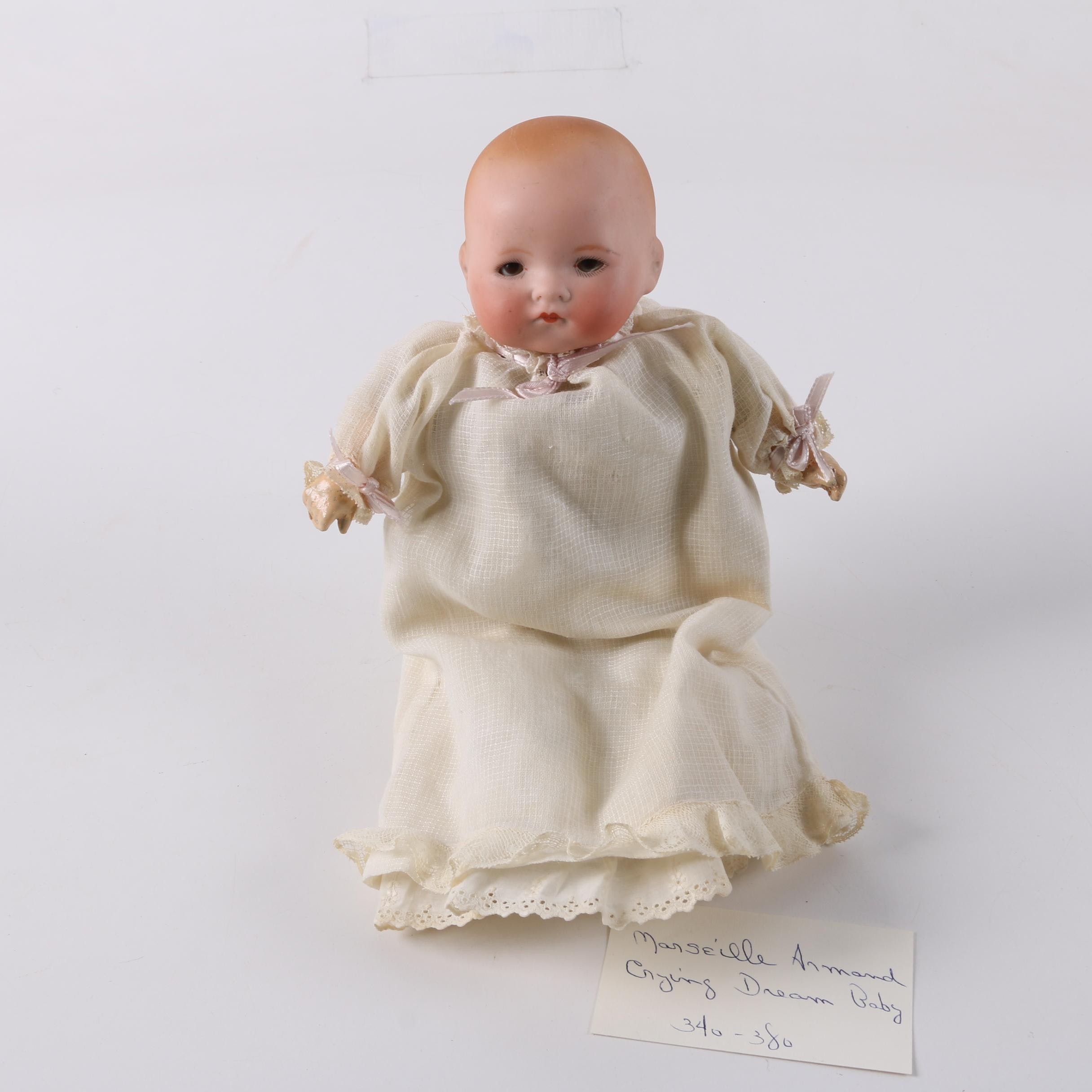"""Antique Armand Marseille """"My Dream Baby"""" Crying Doll"""