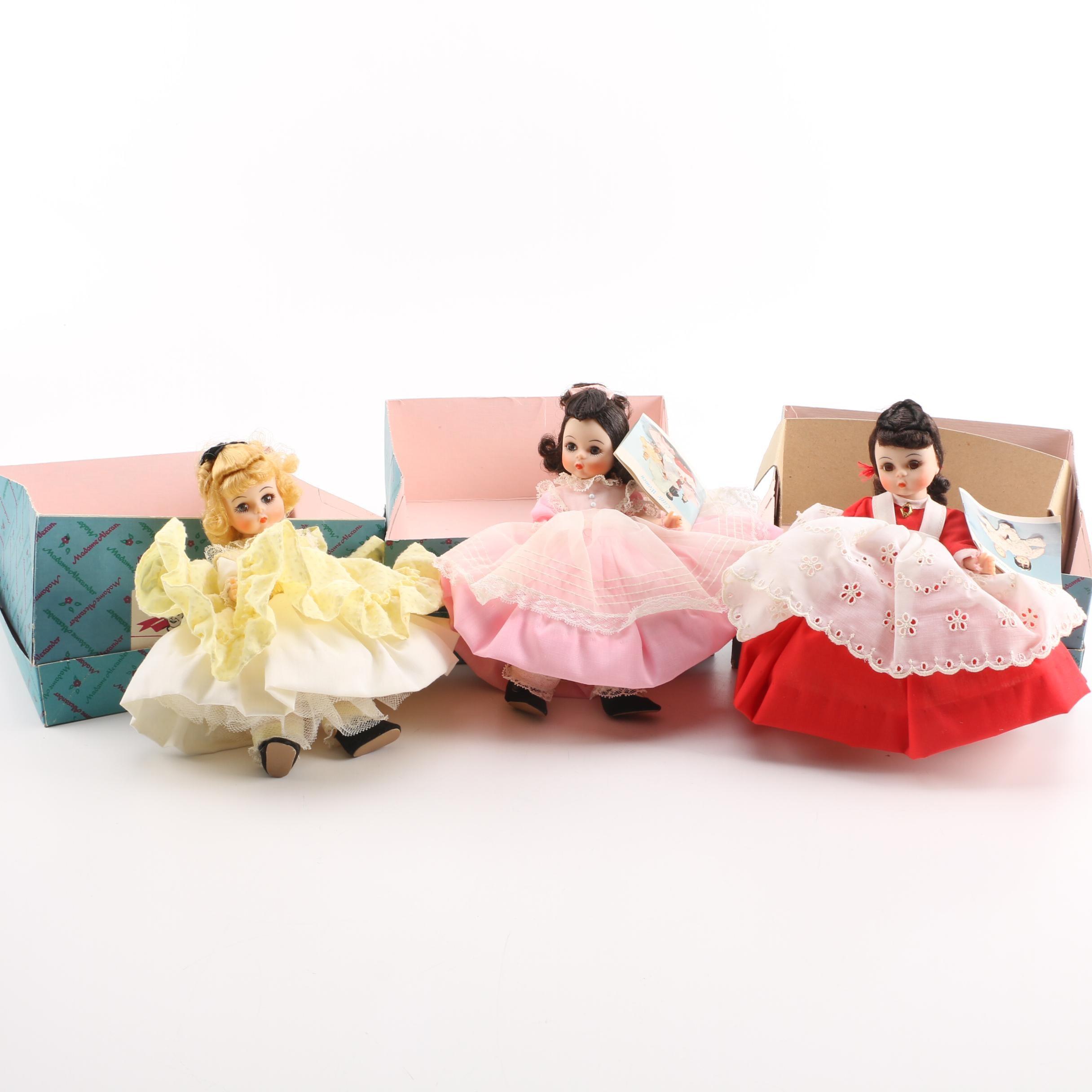 """Vintage Madame Alexander """"Little Women"""" Dolls"""
