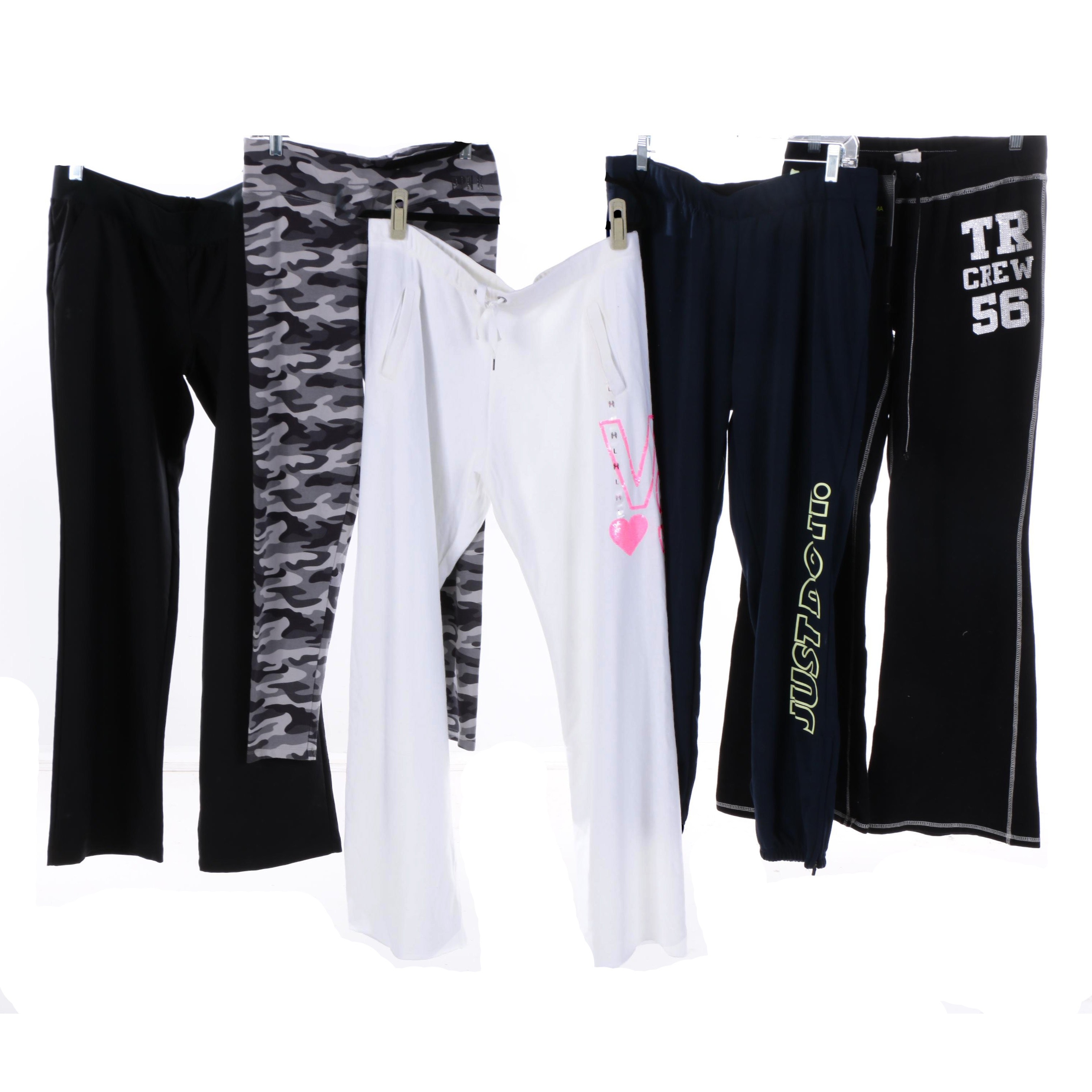 Women's Athletic Shorts and Pants Including Under Armour and Victoria's Secret