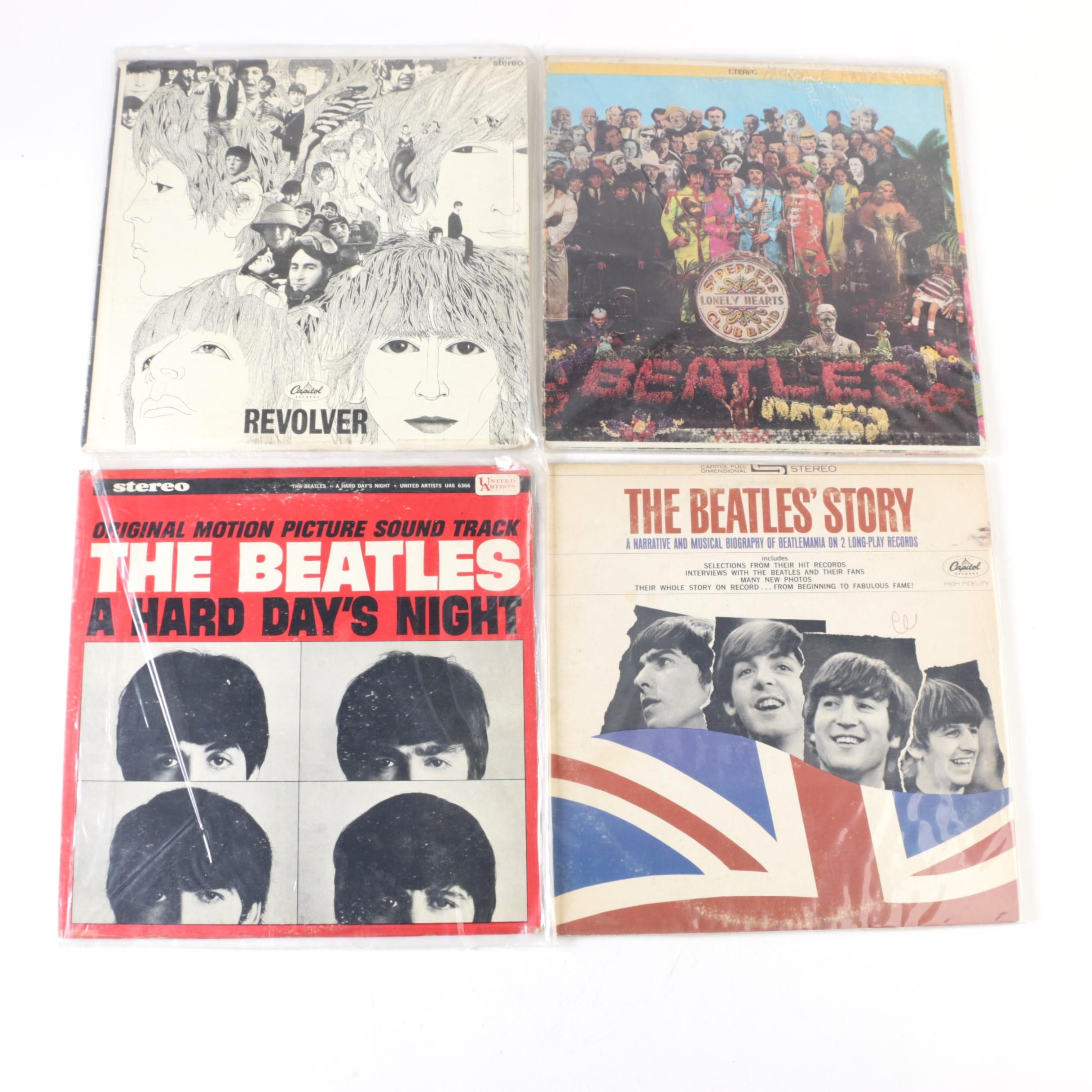"The Beatles Late 60s US Record Pressings Including ""Revolver"" and ""Sgt. Pepper"""