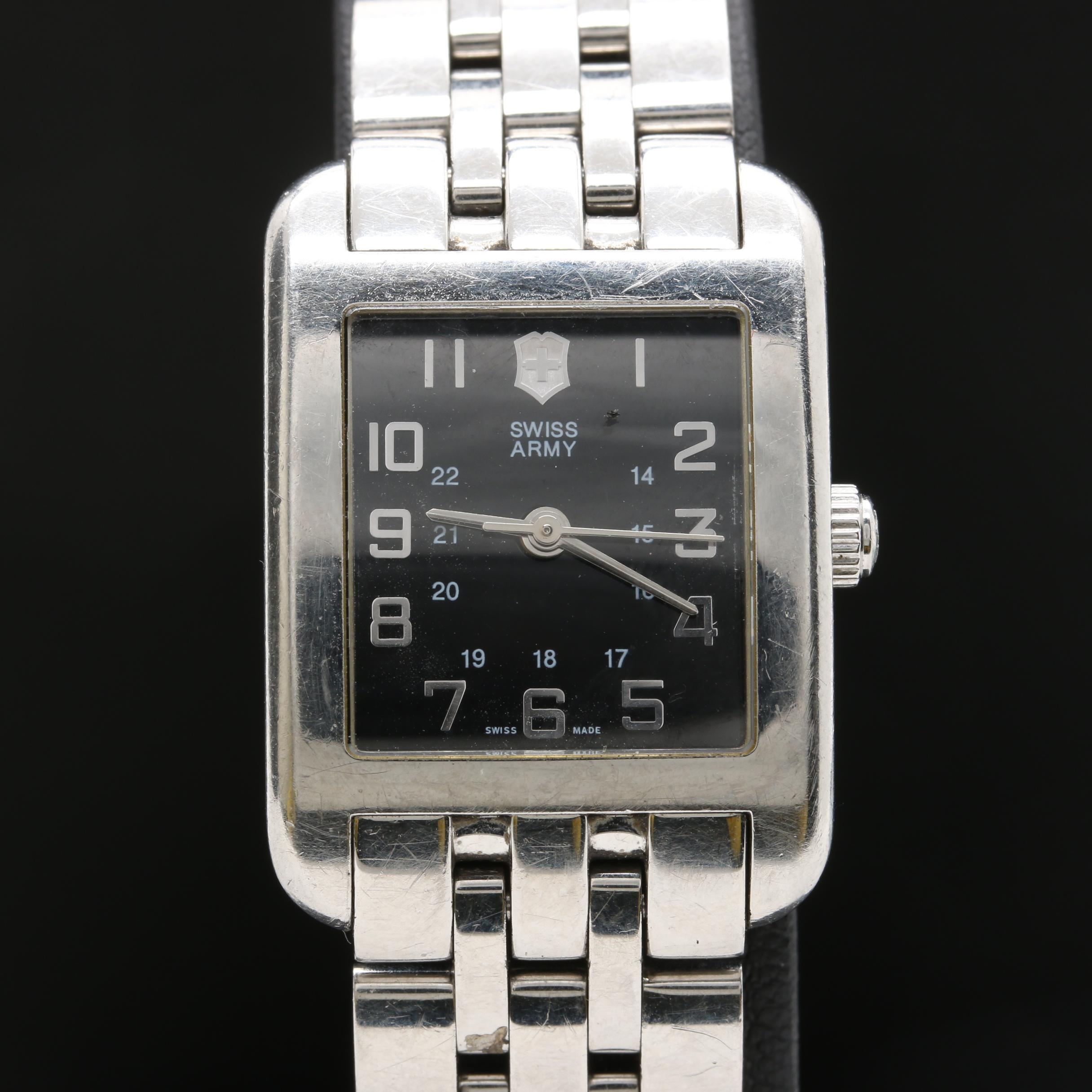 Swiss Army Stainless Steel Wristwatch