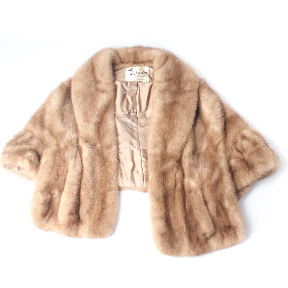 Vintage Aldridge Mink Fur Stole