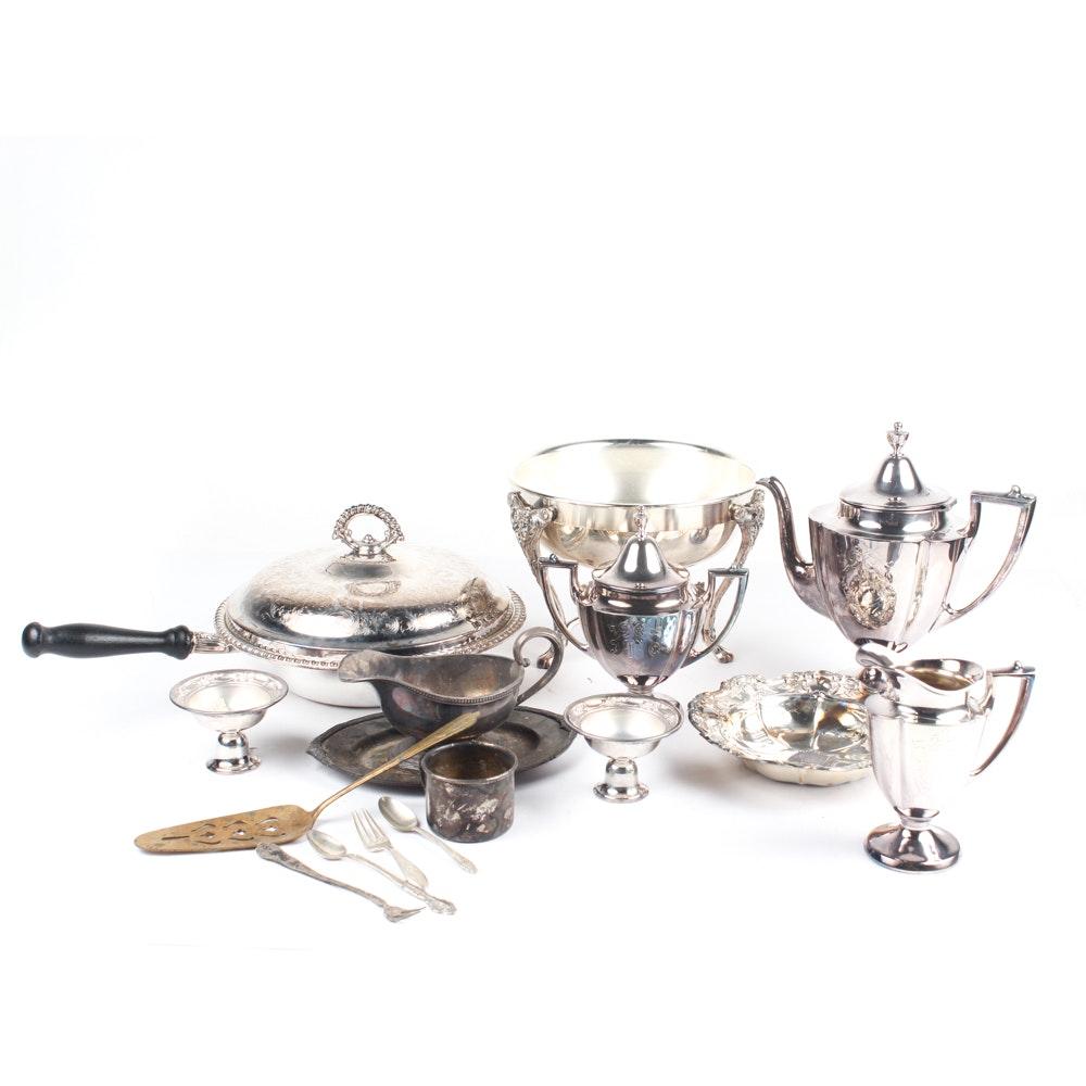 Vintage Silver Plated Serveware