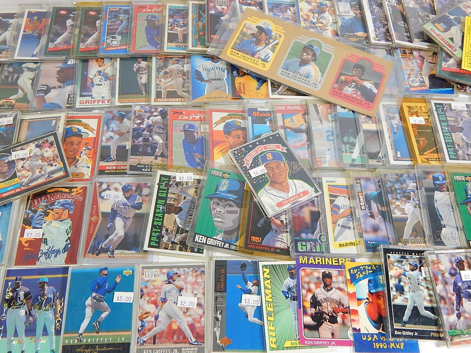Over 80 Ken Griffey Jr. Baseball Insert Cards