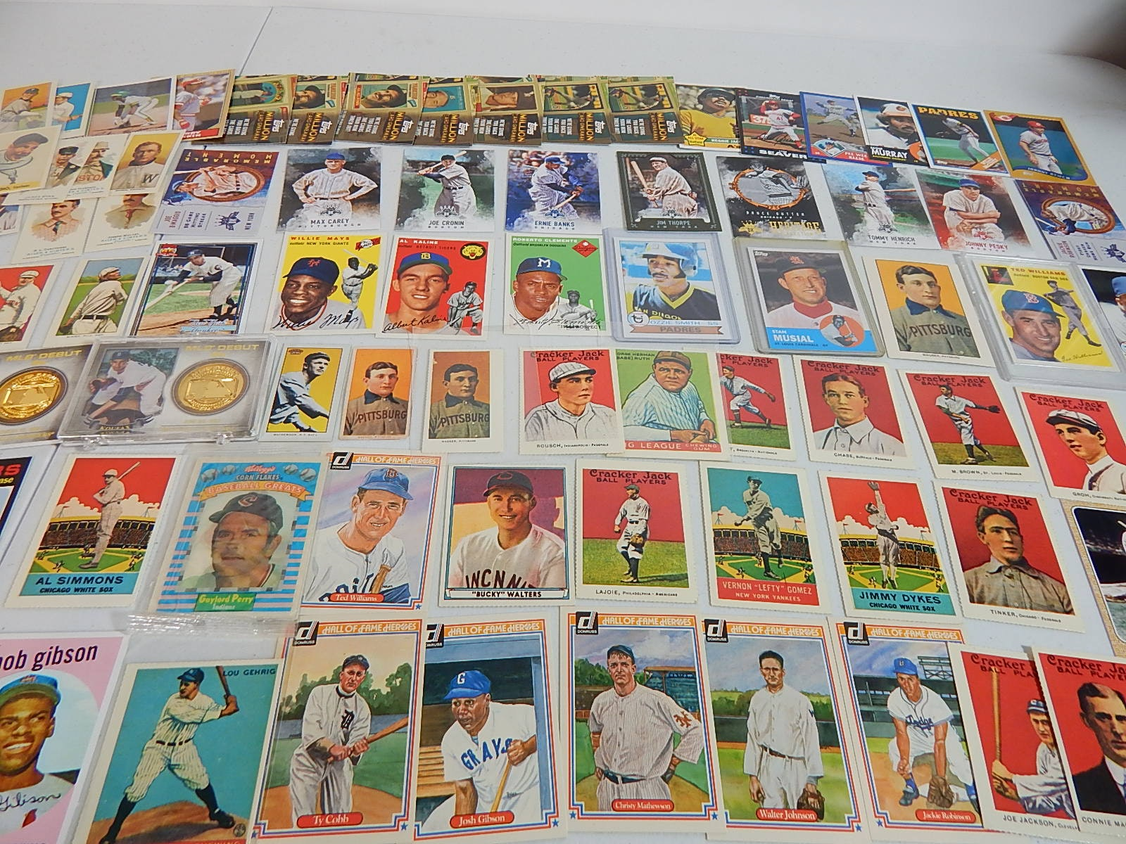 1980s through 2000 Archives and Dover Reprint HOF Cards - Over 80 Card Count