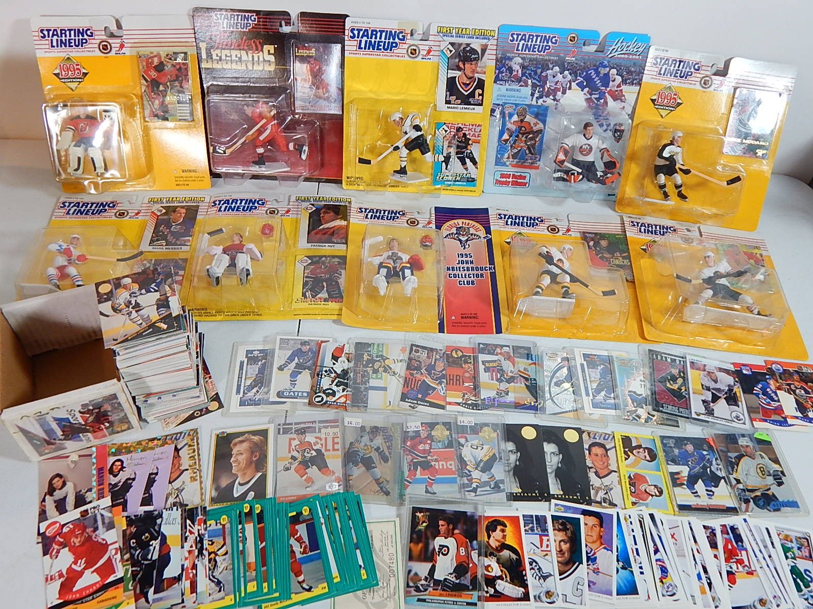 NHL Hockey Starting Lineup Figures and Card Collection