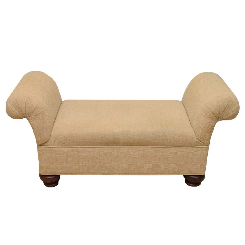 Regency Syle Upholstered Bench