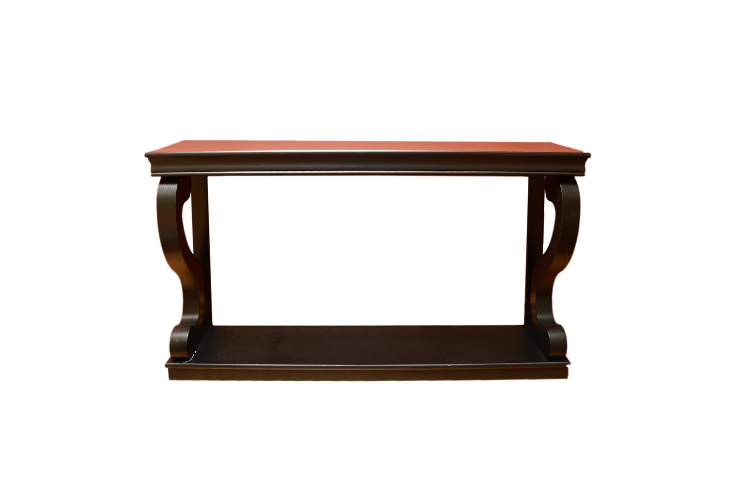 Empire Style Black Finish Console Table