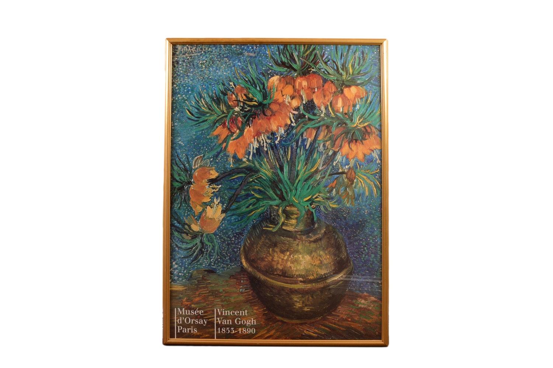 Vincent Van Gogh Poster for Musée d'Orsay