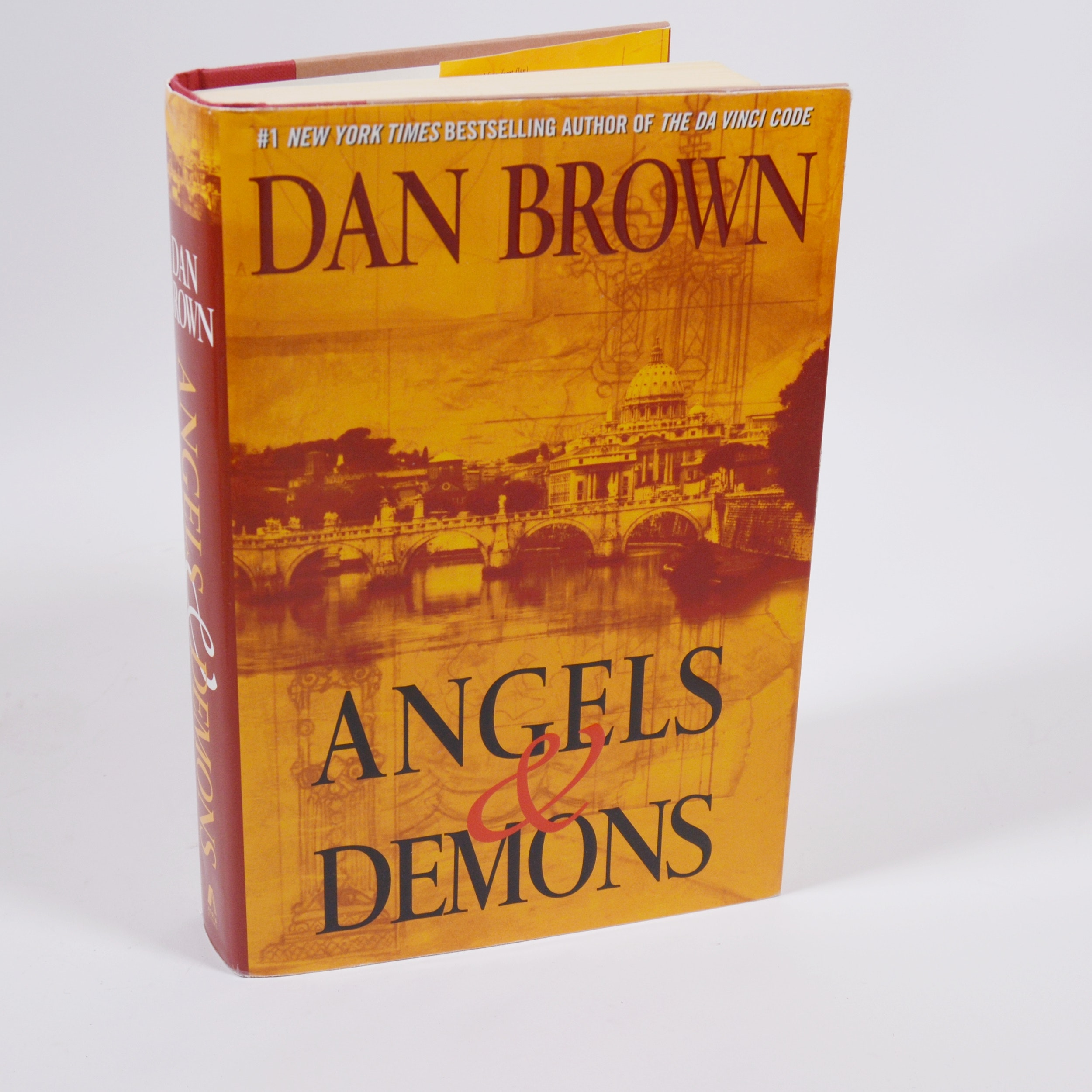 """Dan Brown """"Angels & Demons"""" Hardcover Book"""