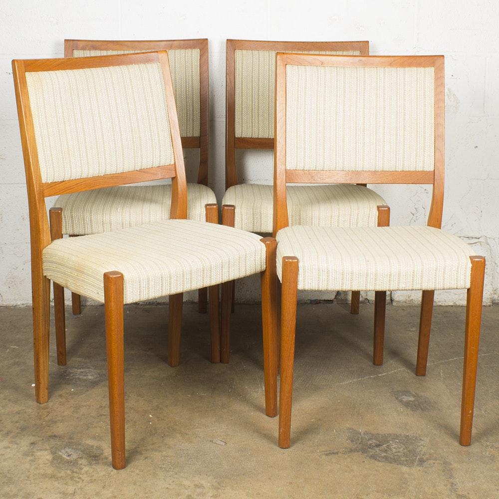 Danish Modern Style Dining Chairs