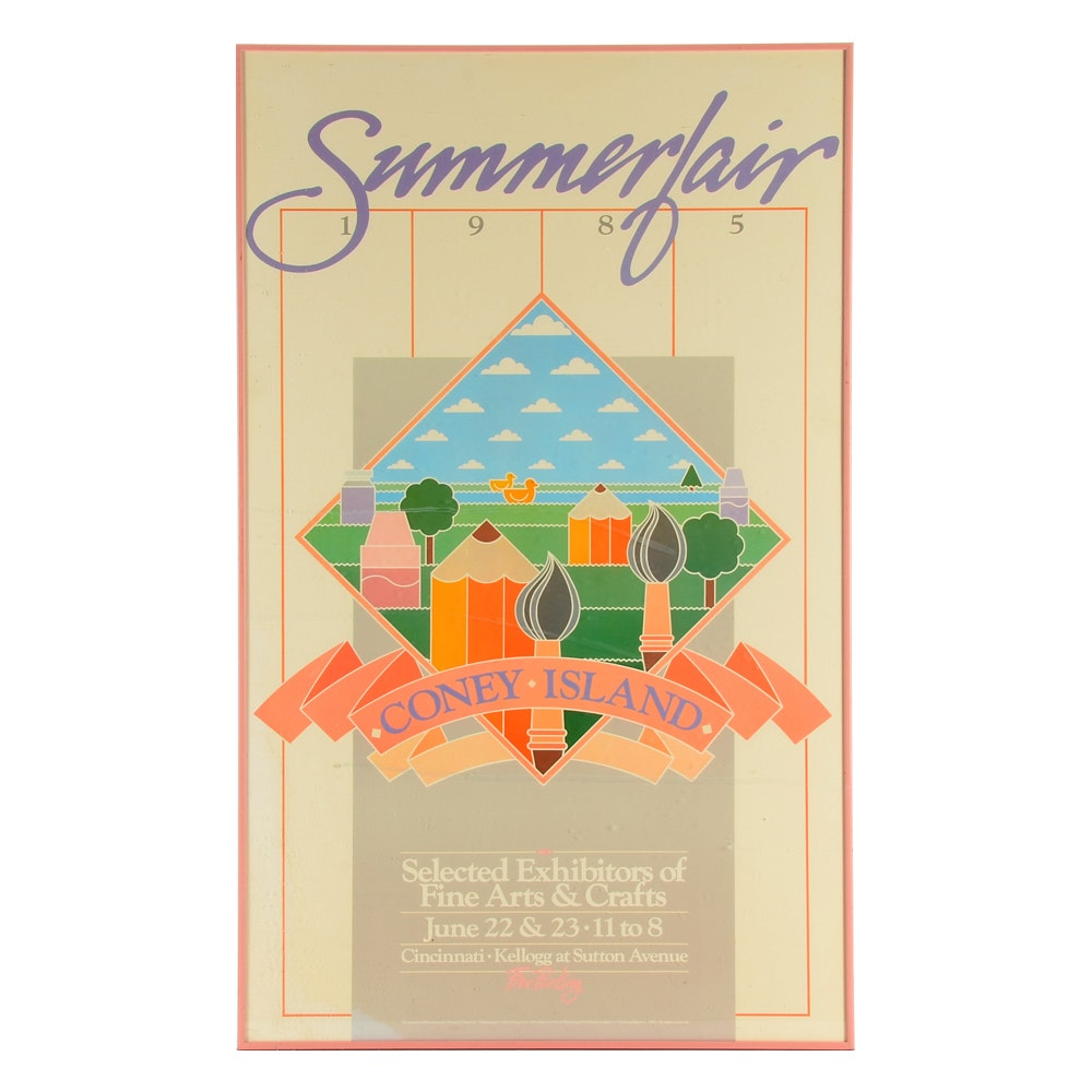 1985 Summerfair Poster