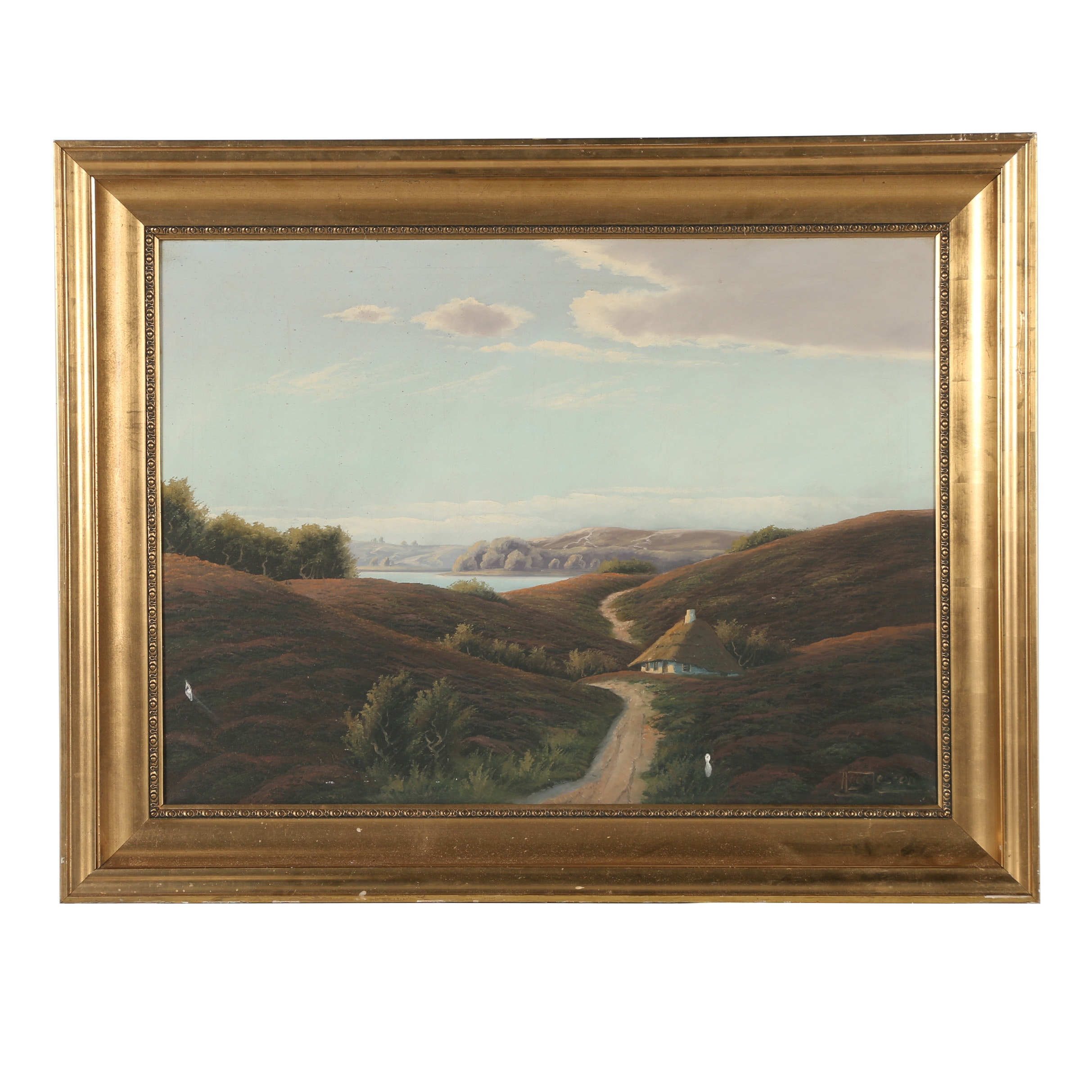 Early-20th-Century Oil Painting