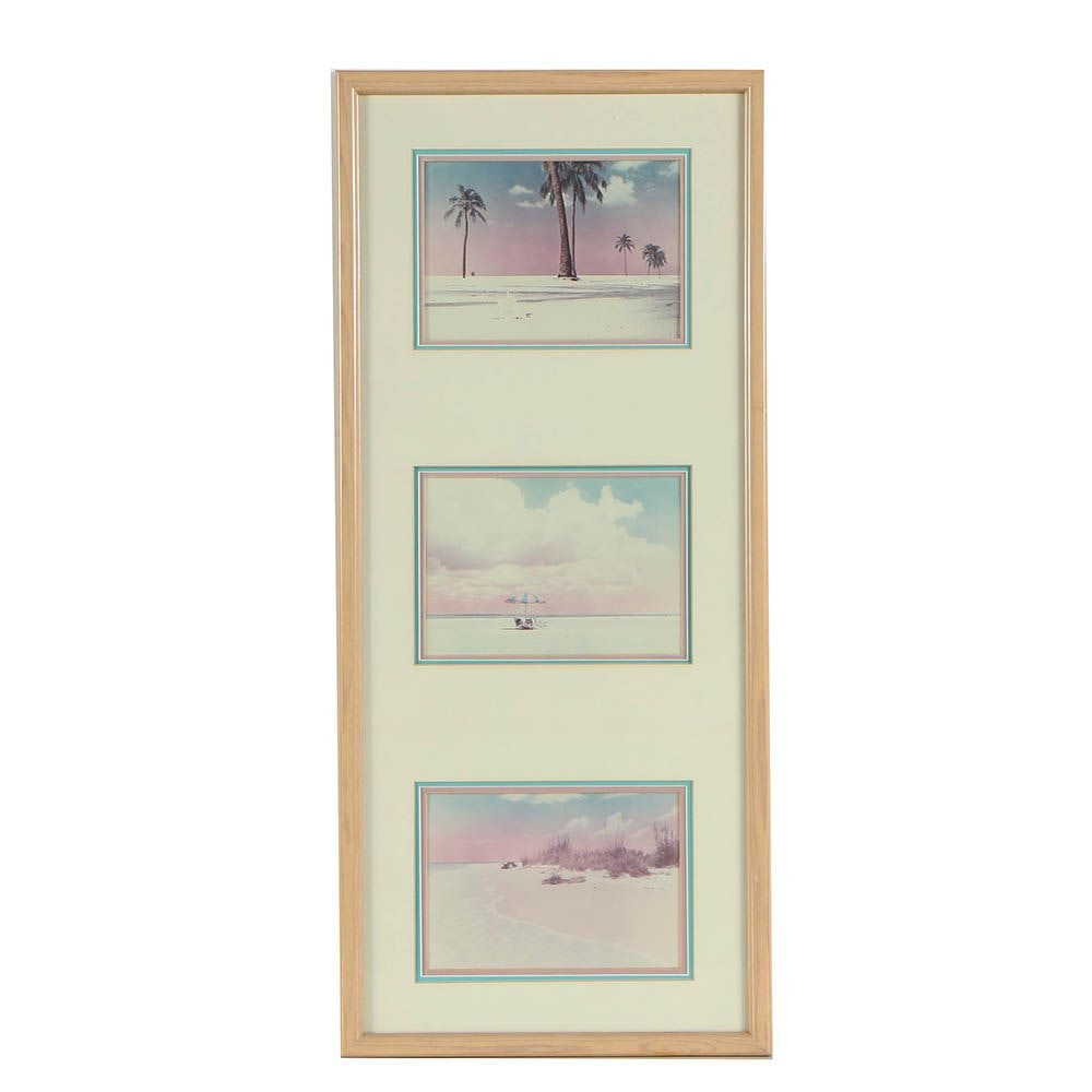 Chromogenic Color Photographs of Beachscapes