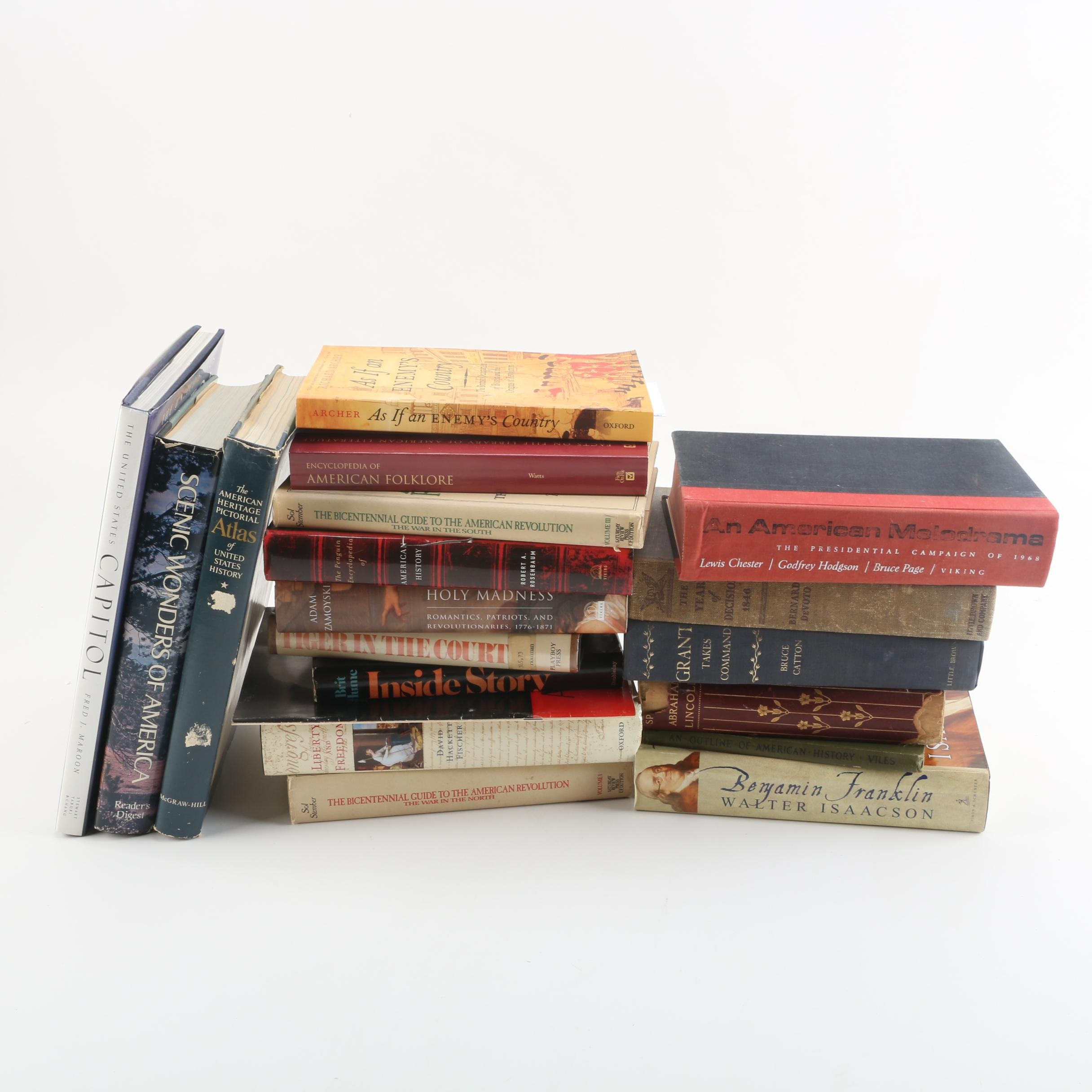 American History and Historical Fiction Books