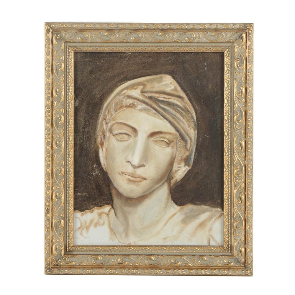 Oil Painting of Classical Sculpture