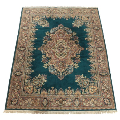 "Vintage Power-Loomed ""Kirman"" Area Rug by Beaulieu of America"