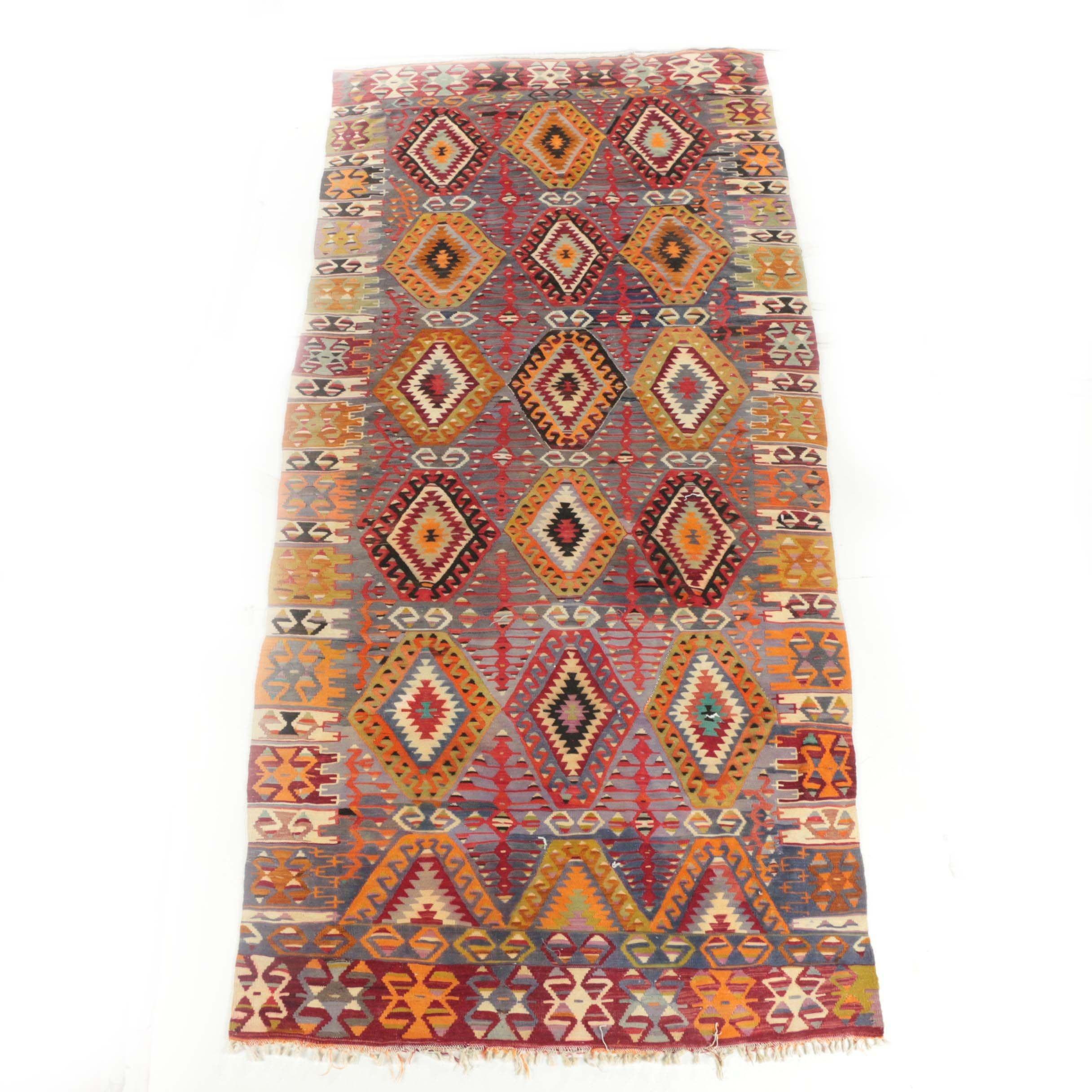 Handwoven Anatolian Wool Kilim