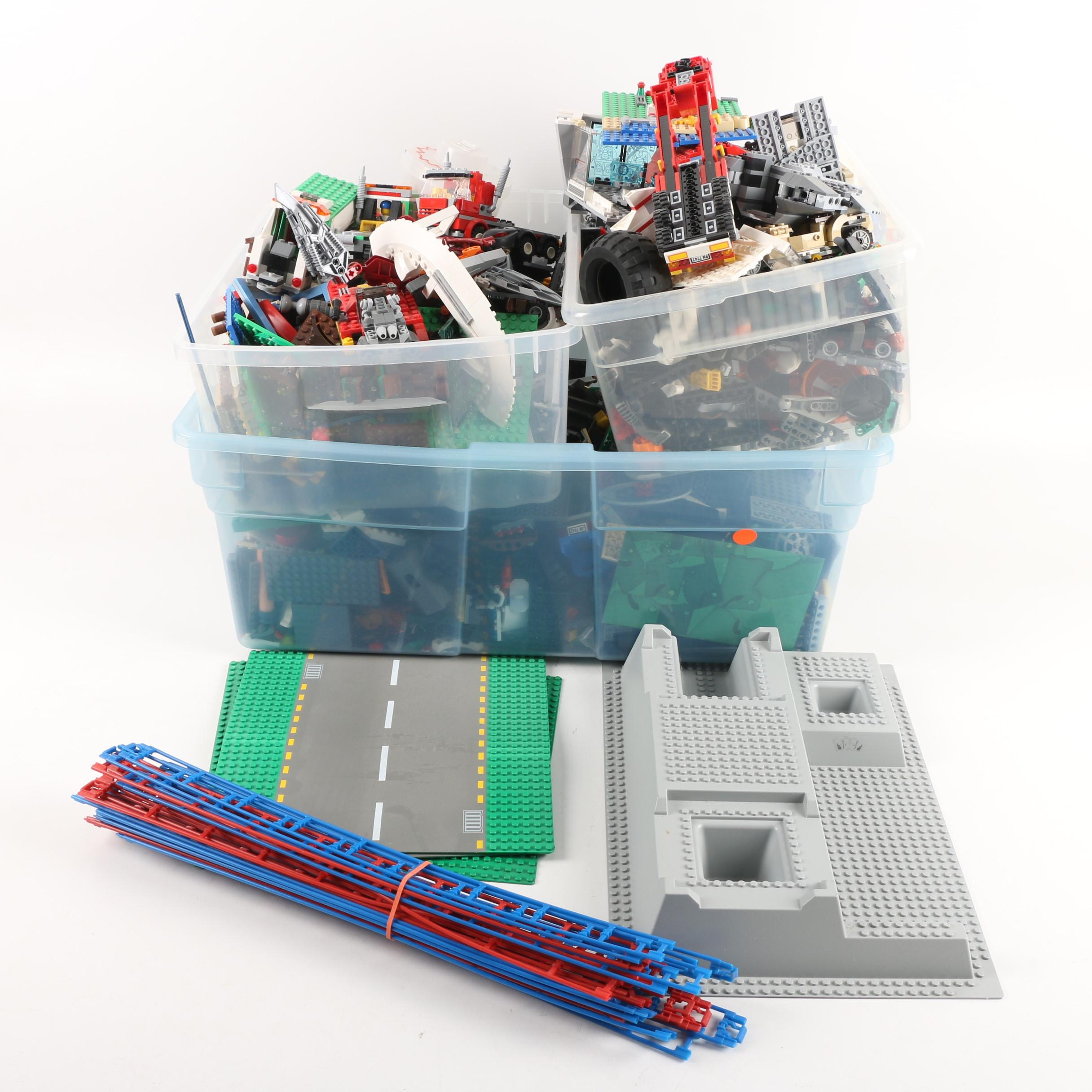 LEGO Collection Including Baseplates