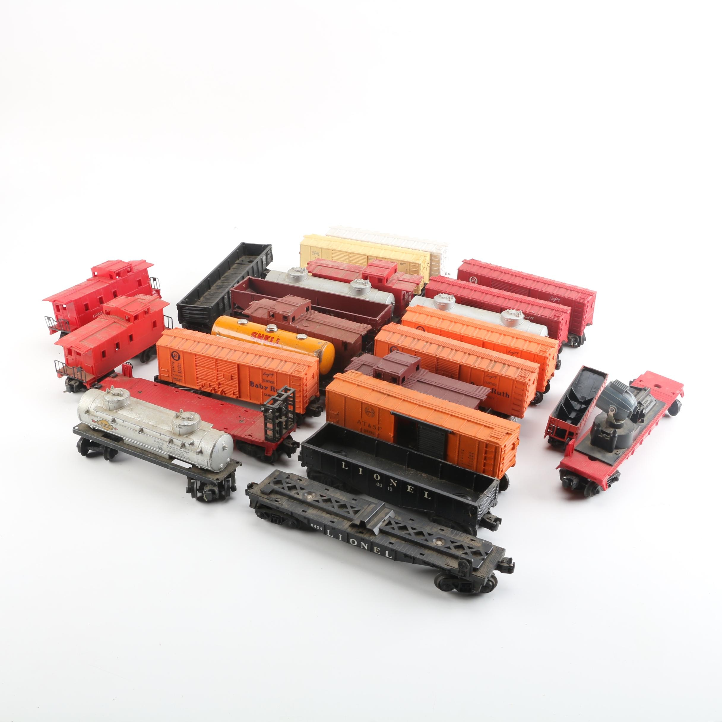 Lionel Freight Train Cars