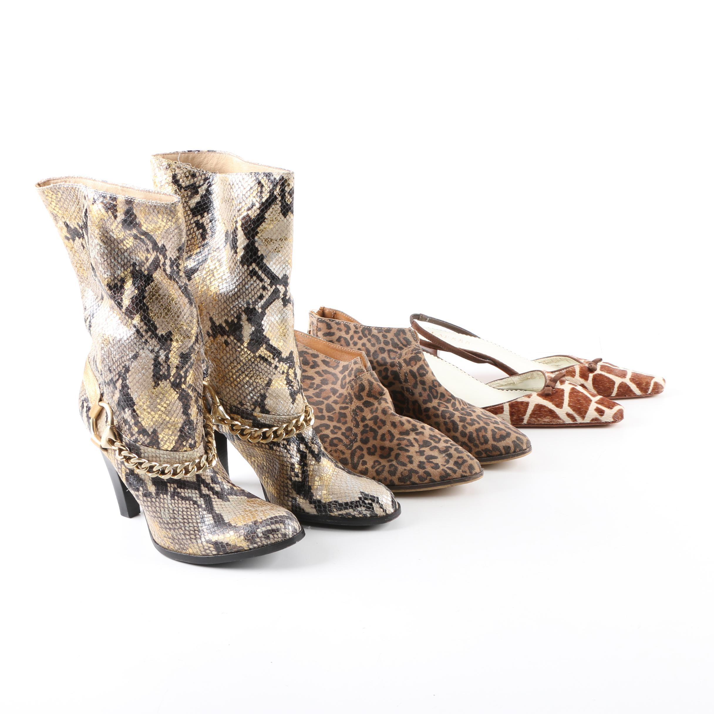 Women's Patterned Shoes by MICHAEL Michael Kors, Aldo and LAUREN Ralph Lauren