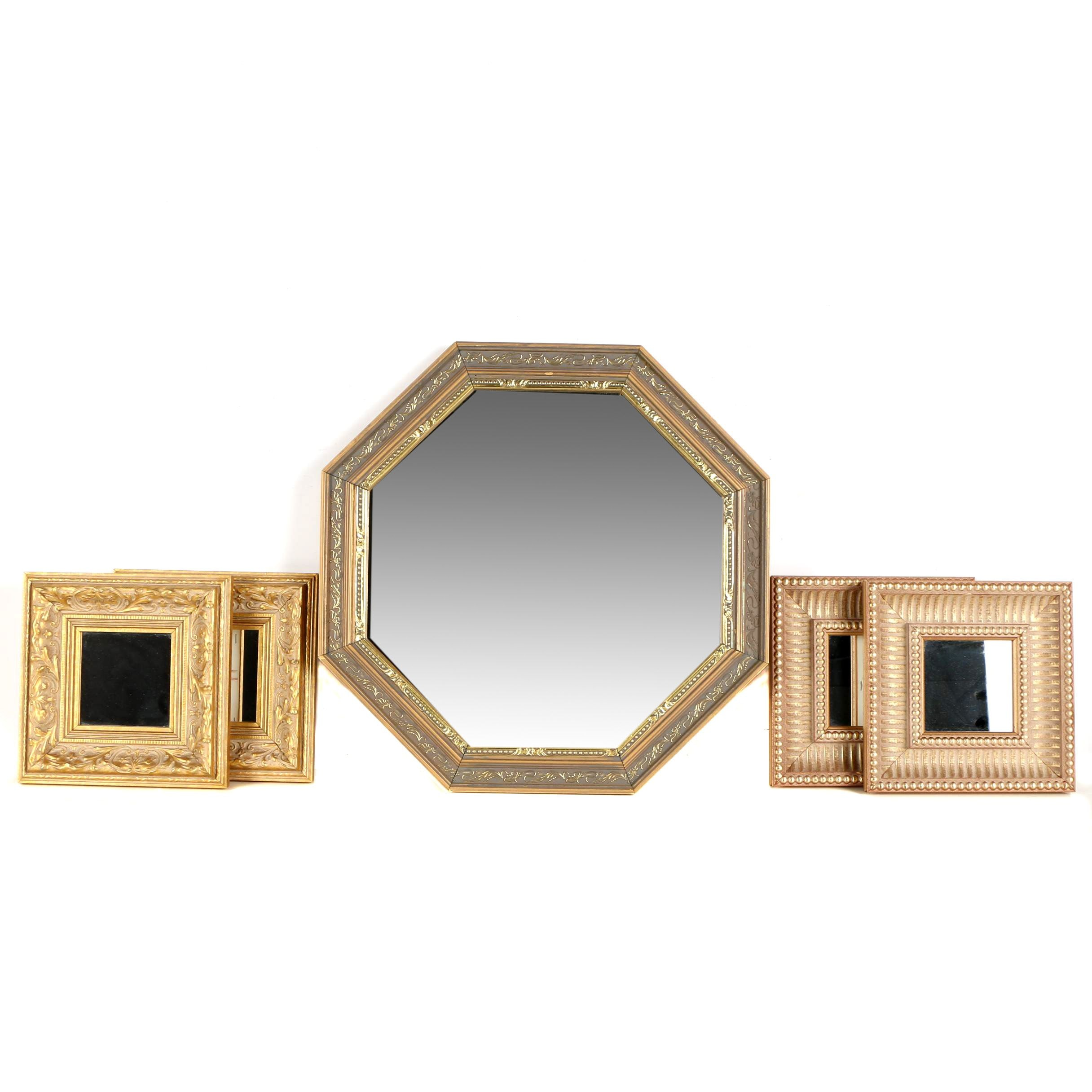 Five Decorative Wall Mirrors