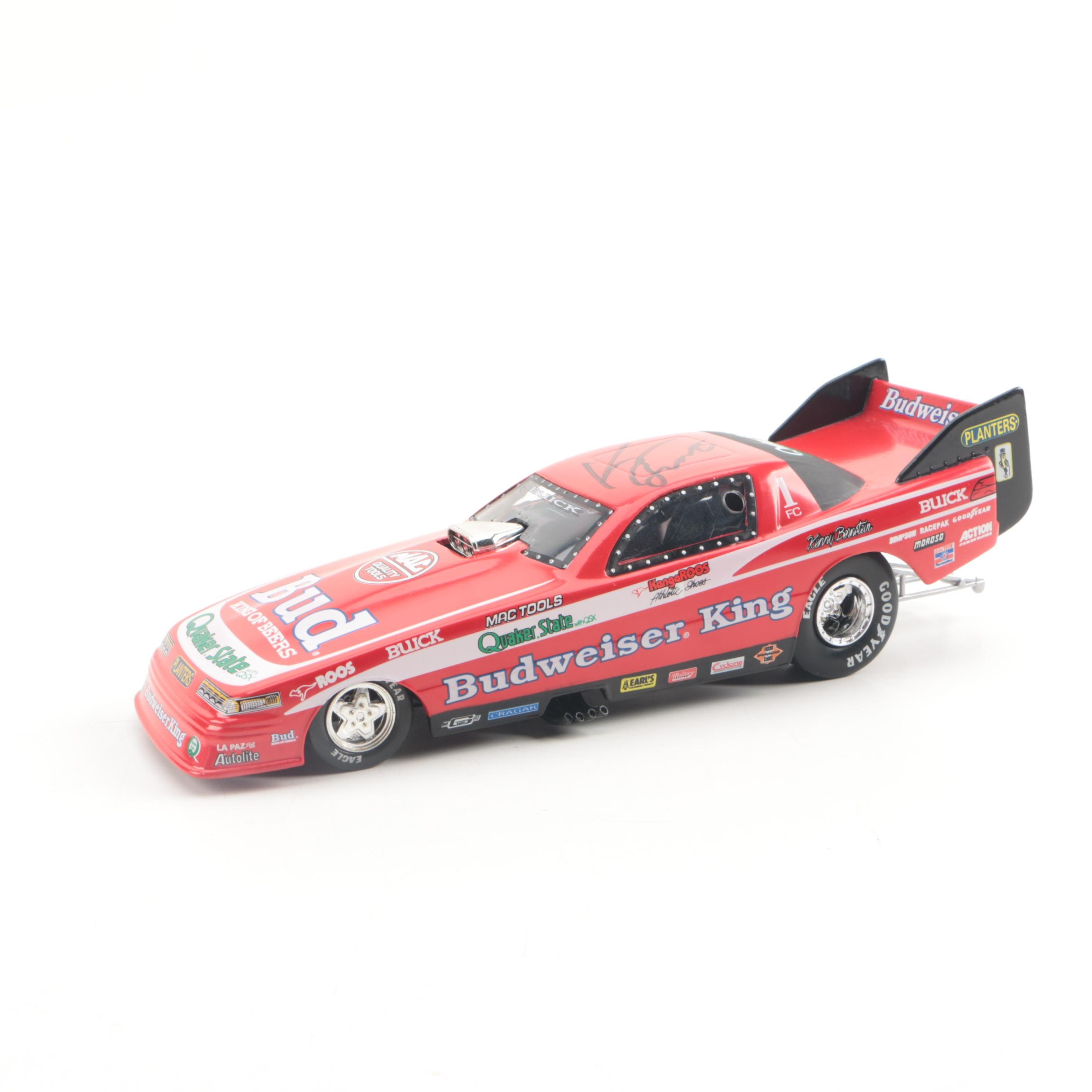 Kenny Bernstein Autographed Action Die-Cast Car