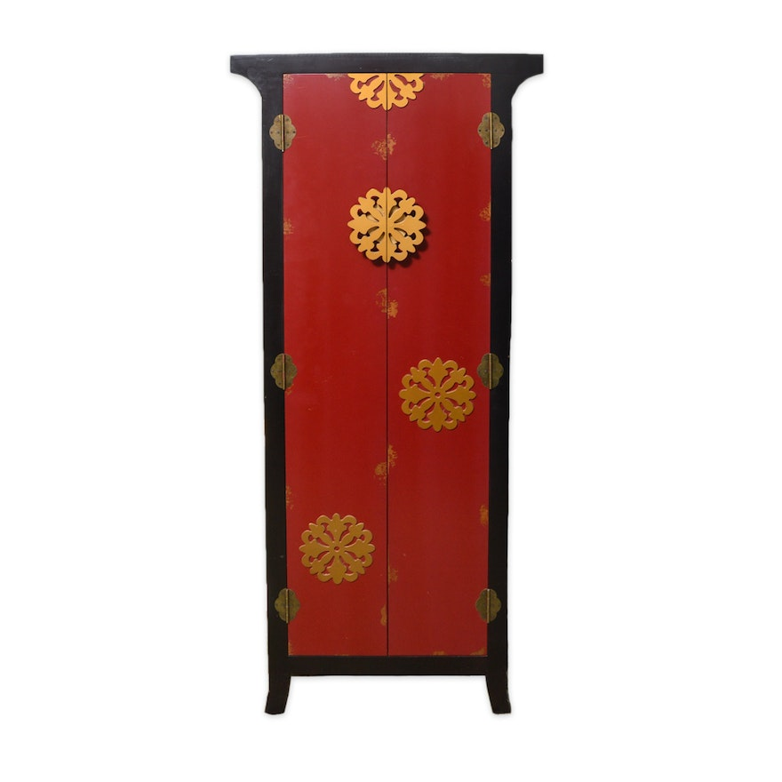 Chinese Inspired Storage Cabinet